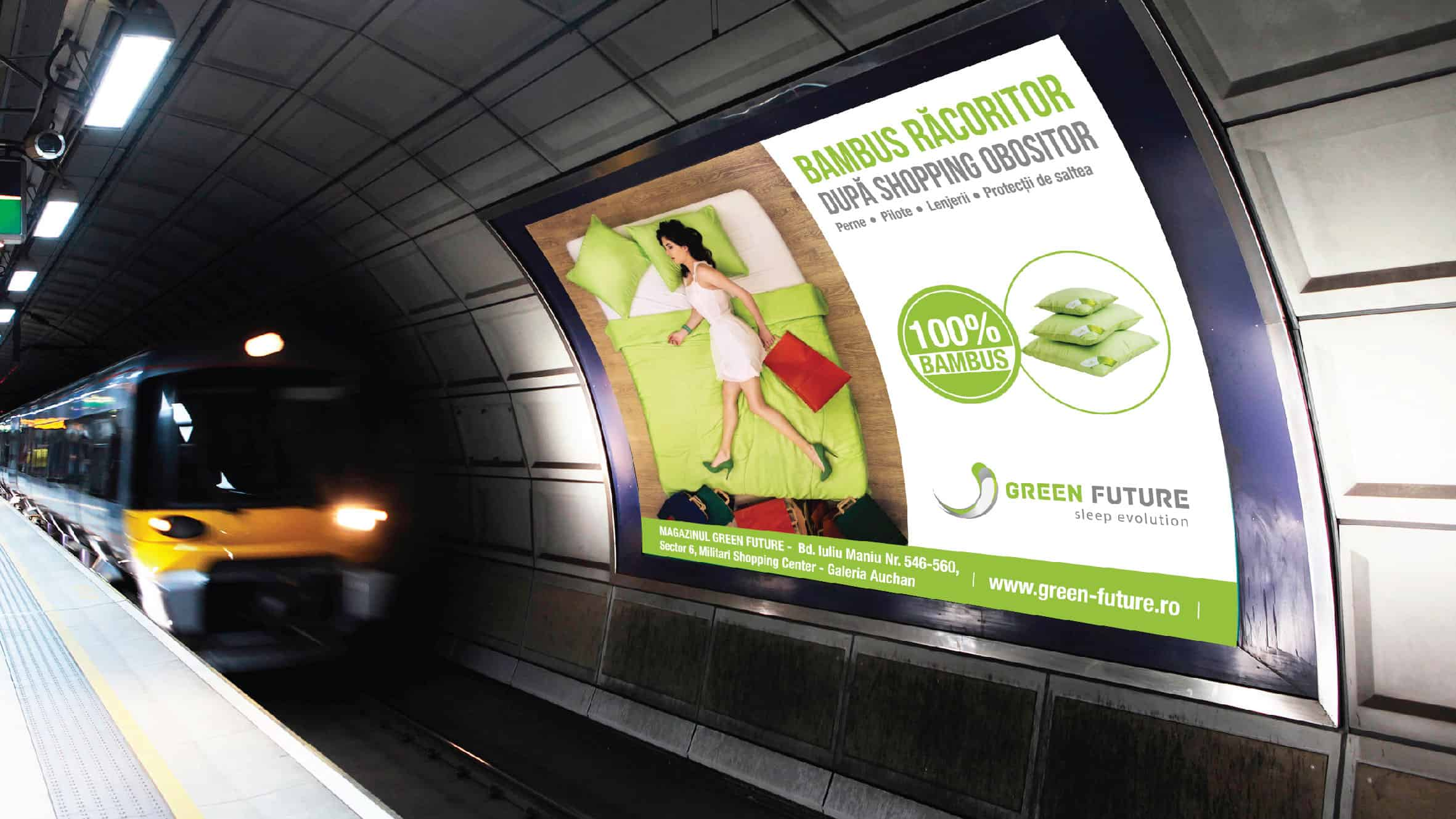 Green Future OOH campaign