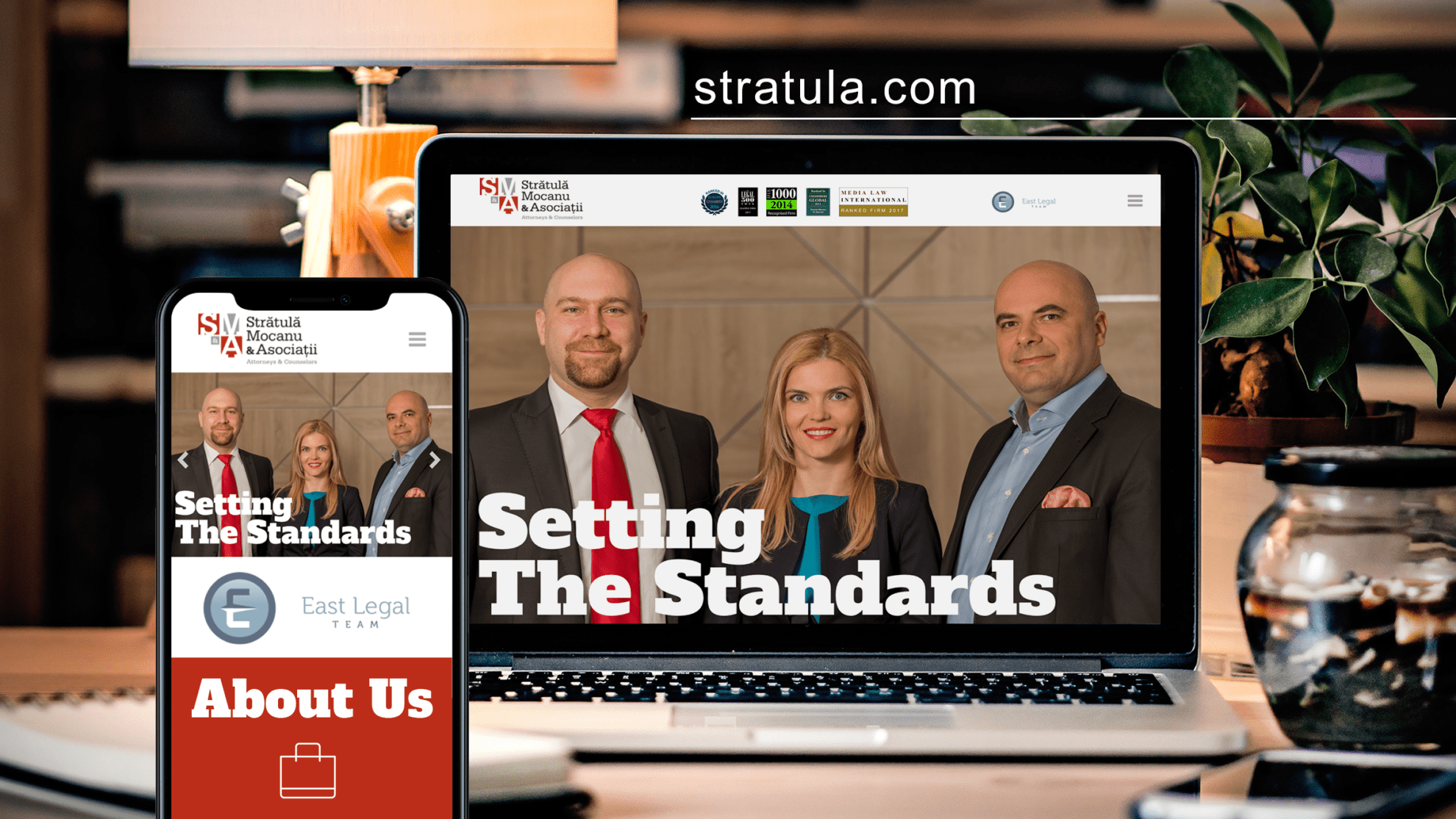 Stratula & Associates website renewal