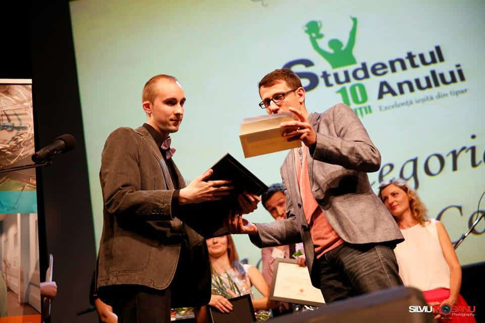 Stefan Stroe Student of the year