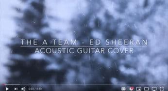 A Team guitar cover Youtube