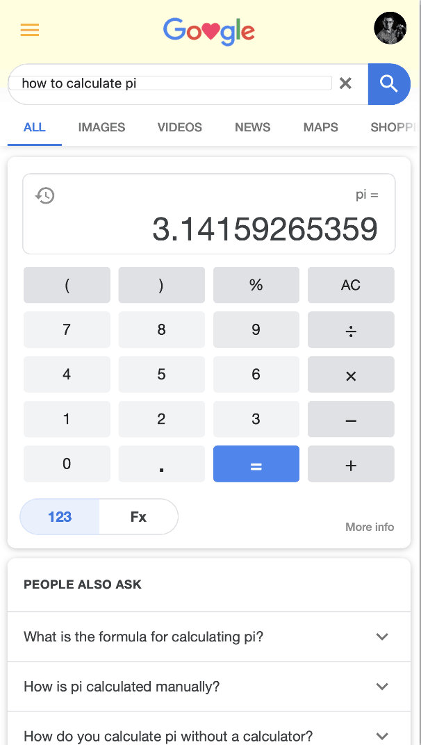 how to calculate pi