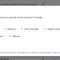 google my business special hours 3