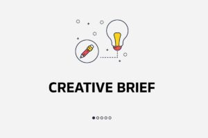 what is creative brief dictionary