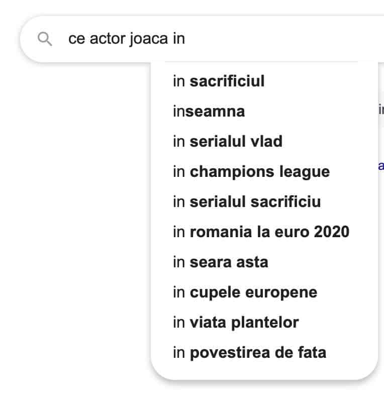 ce actor joaca in google