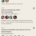 clubhouse app features rooms list
